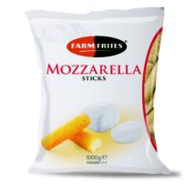 Mozzarella rudak 1000g