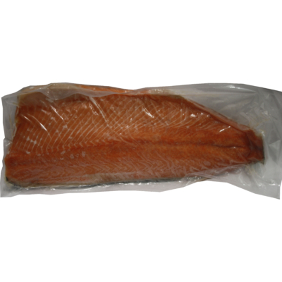 Norvég, egész, bőrös vöröslazac filé 1,8-2,4kg