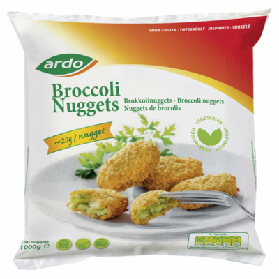 ARDO - Panírozott sajtos brokkolinuggets 1000g