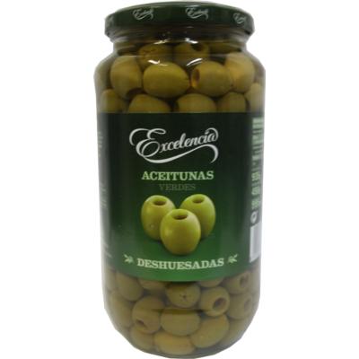 Olívabogyó zöld magozott 935/450g ''Excelencia''
