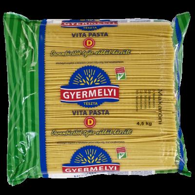 Gyermelyi Vita Pasta durum Makaróni 4,5kg