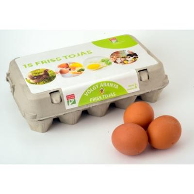 Friss tojás L 15db