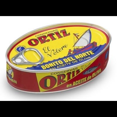 ORTIZ - Fehér tonhal olívaolajban 112g